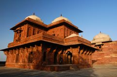 Indian Palace in Fatehpur Sikri Stock Photo
