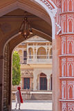 Indian Palace Guard Royalty Free Stock Images