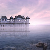 Indian palace. Royalty Free Stock Photos