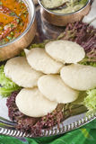 Indian pancakes from rice and lentils. Stock Photos