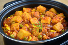 Indian Paneer Royalty Free Stock Images