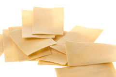 Indian Pappadam Crackers Stock Image