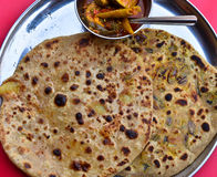 Indian Parantha Royalty Free Stock Photos