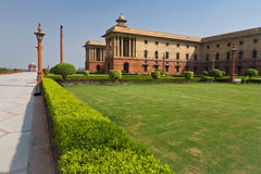 Indian Parliament Royalty Free Stock Photography