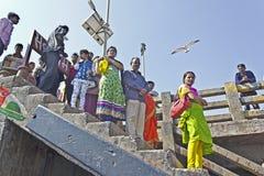 Indian passengers Royalty Free Stock Image