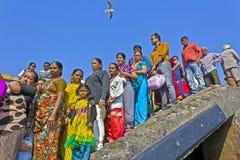 Indian passengers Stock Image