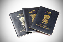 Indian passports Royalty Free Stock Image