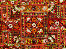 Indian patchwork carpet Stock Photo