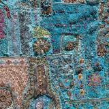 Indian patchwork carpet Stock Photography