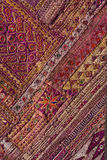 Indian patchwork carpet, close up Stock Photography