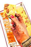Indian patissa sweet Stock Images