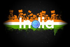 Indian Patriotism Stock Photo