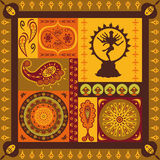 Indian pattern Royalty Free Stock Photo