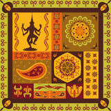 Indian pattern Royalty Free Stock Photography