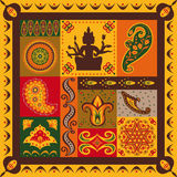 Indian pattern Stock Images