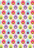 Indian pattern backgorund Royalty Free Stock Images