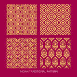 Indian pattern design Royalty Free Stock Photos
