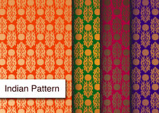 Indian Pattern - Detailed and easily editable Royalty Free Stock Photography