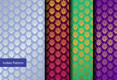 Indian Pattern - Detailed and easily editable Royalty Free Stock Photo