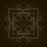 Indian Pattern - Detailed and easily editable royalty free illustration
