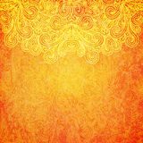 Indian pattern,  illustration Royalty Free Stock Images
