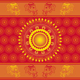 Indian pattern Royalty Free Stock Images