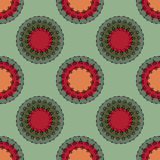 Indian pattern1 Royalty Free Stock Photography