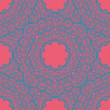 Indian pattern. Vector seamless laced pattern in oriental style Royalty Free Stock Images
