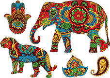 Indian patterns for design Stock Photo