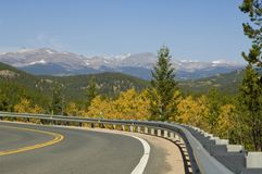 Indian Peaks Stock Photography