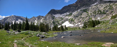 Indian Peaks Wilderness, Colorado Stock Photo