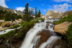 Indian Peaks Wilderness Waterfall Stock Photos
