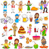 Indian people Emoji for different expression and feeling Stock Photography