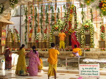 Free Indian People Pray In The Jain Temple In Palitana Royalty Free Stock Photo - 44453205