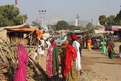 Indian People at Pushkar Fair. Stock Photography