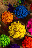 Indian pigments Stock Image