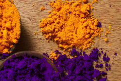 Indian pigments Royalty Free Stock Image