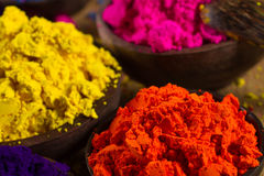 Indian pigments Stock Photos