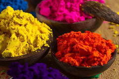 Indian pigments royalty free stock photo