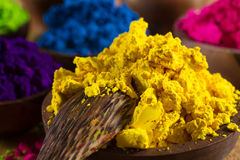 Indian pigments Royalty Free Stock Photography