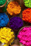 Indian pigments Stock Photography