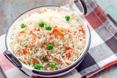 Indian Pilaf. Dish image from the top stock photos