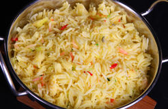 Indian Pilau Rice Stock Photo