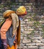 Indian pilgrim stock images