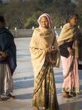 Indian pilgrim. Royalty Free Stock Image