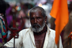 Indian Pilgrim Stock Image