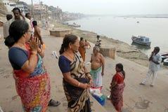 Indian Pilgrimage Royalty Free Stock Photography