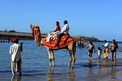 Indian Pilgrimage Royalty Free Stock Image