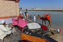 Indian Pilgrimage Royalty Free Stock Photos