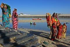 Indian Pilgrims Stock Photos